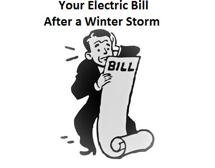 Pay Less Electricity After Winter Storm
