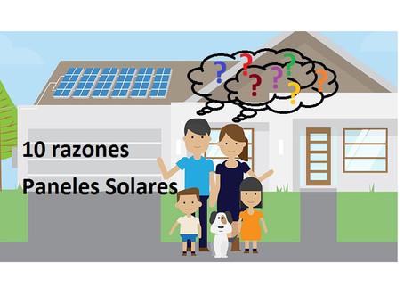 Energía solar para su hogar.