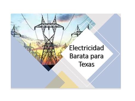 Electricidad Barata para Texas