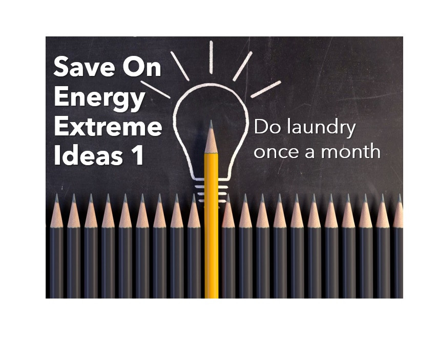 Ideas to save energy