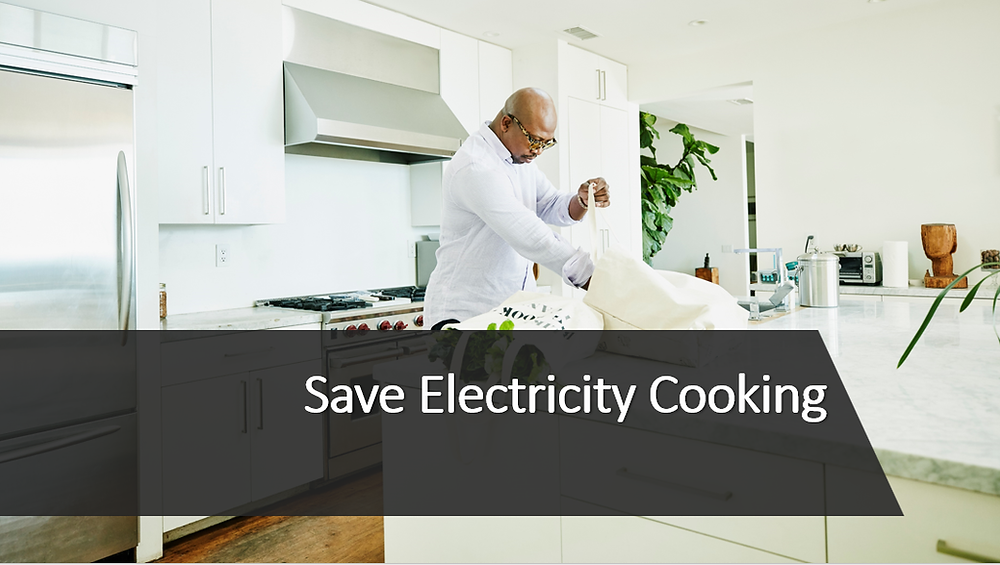Save Electricity Cooking