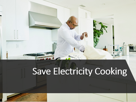 Save Electricity While Cooking