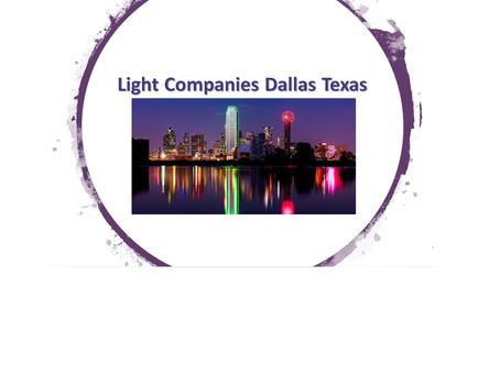 Light Companies Dallas Texas