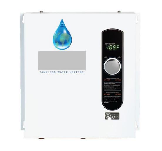 Image of a tankless water hetaer