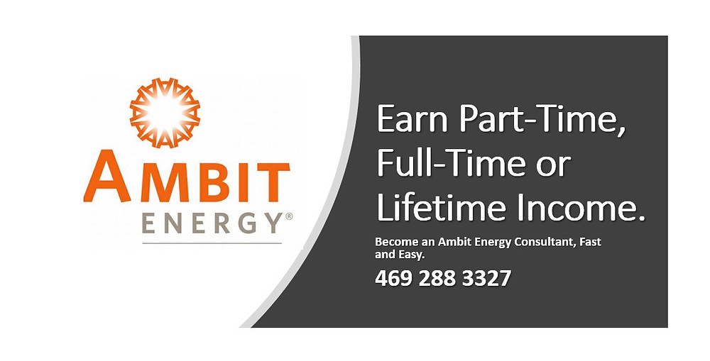 Image of an Ambit Energy business card