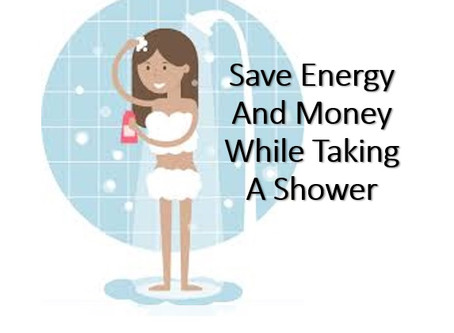 Save electricity by saving water at home