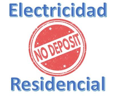 Luz Residencial Sin Depósito