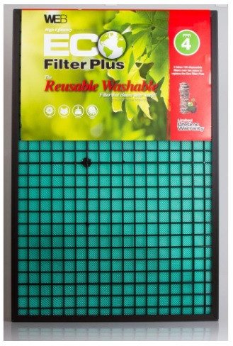 Reusable A/C filter