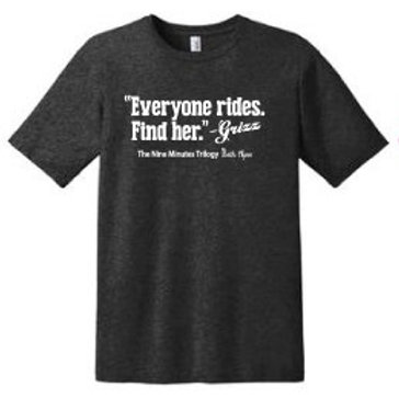 Everyone Rides T-Shirt *Dark Gray