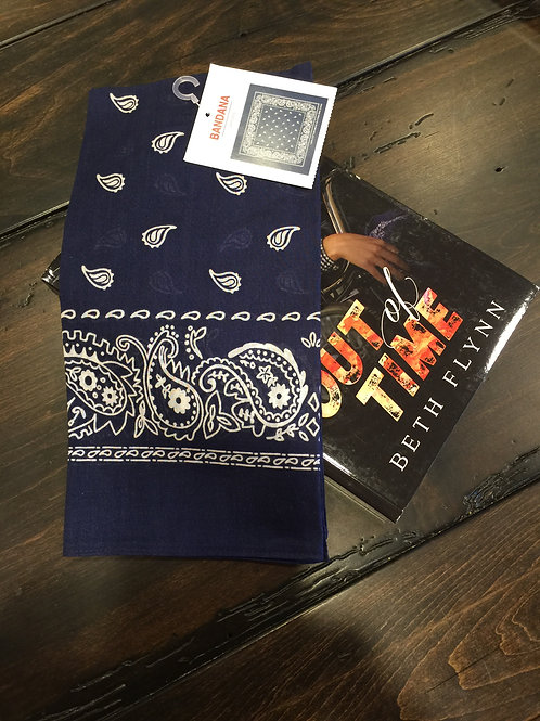 Dark Blue Bandana (FREE when purchased with Out of Time)