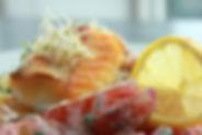 Ferskur fiskur í hádeginu alla daga - SKÝ Resturant í Reykjavík