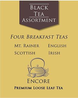 Black Tea Assortment      Breakfast Teas