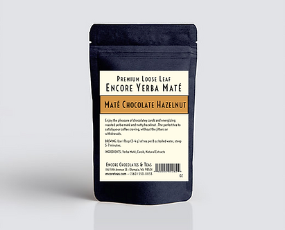 Yerba Mate Chocolate Hazelnut