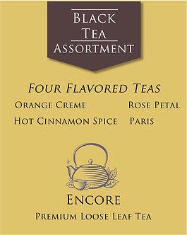Black Tea Assortment        Flavored Teas