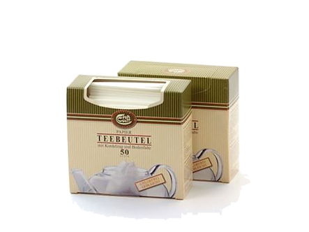 Paper Tea Bags with Drawstring