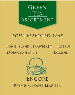 Green Tea Assortment      Flavored Teas