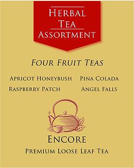 Herbal Tea Assortment         Flavored Fruit Teas