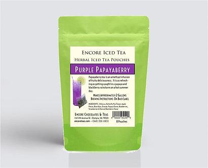 Purple Papaya Berry Iced Tea Pouch