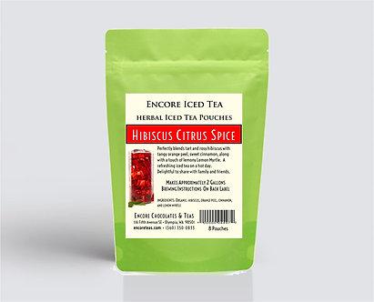 Hibiscus Citrus Spice Iced Tea Pouch