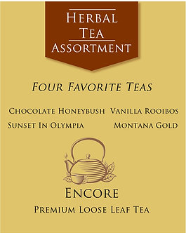 Herbal Tea Assortment      Favorite Teas
