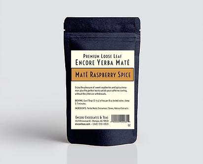 Yerba Mate Raspberry Spice