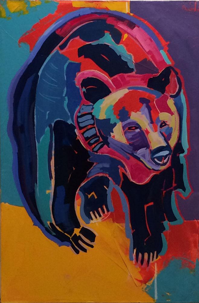 Stalking Bear 1