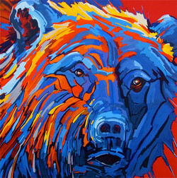 Reflective Bear