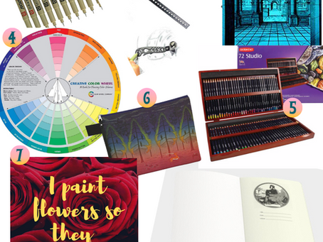 9 Must Have Artist Gifts for Back To School