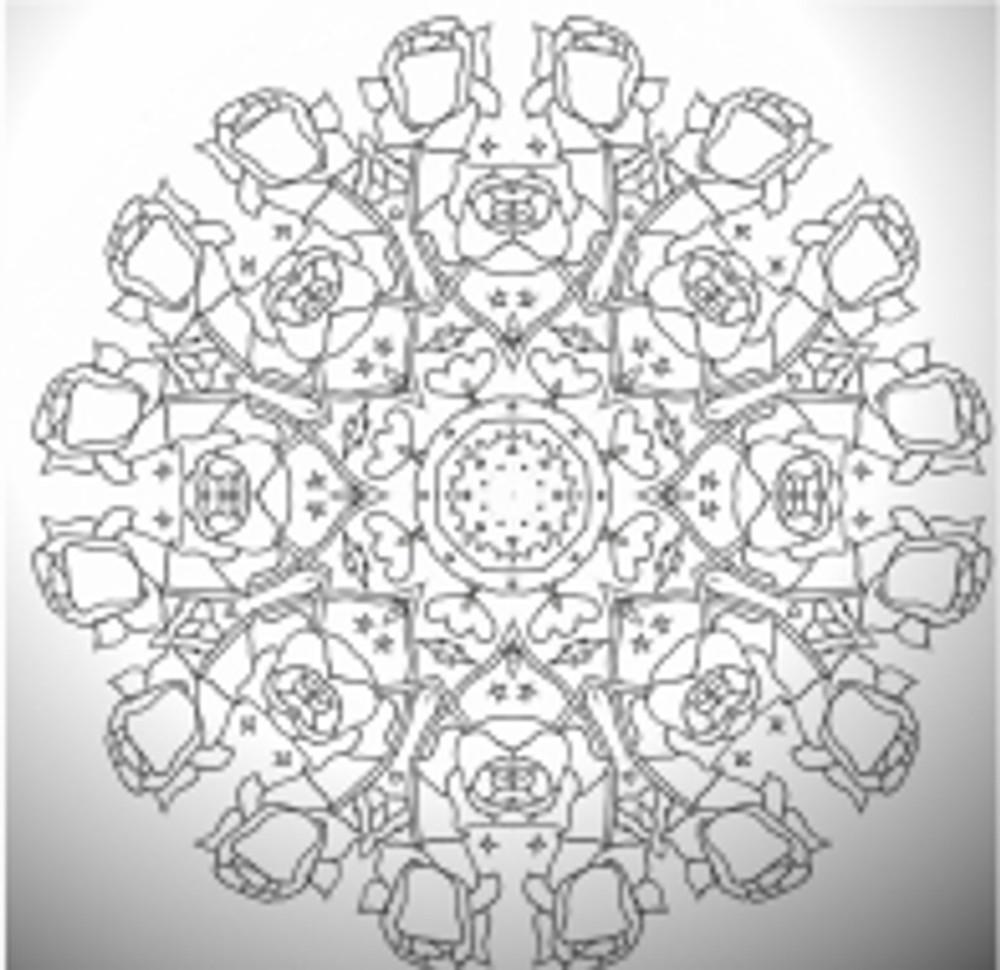 Scan roseweb mandala