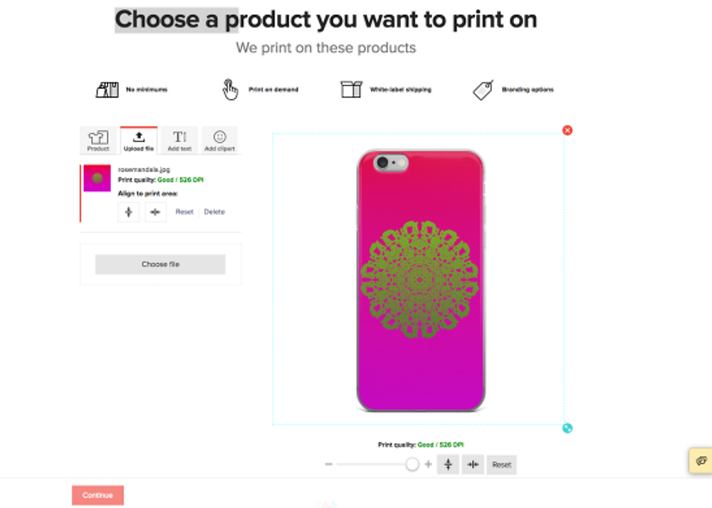 Screenshot_2018-07-31 iPhone Case Create an order Printful