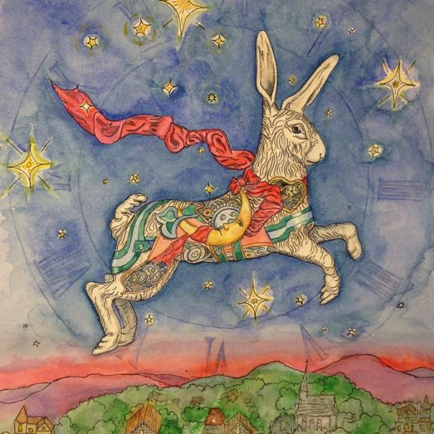Flying Carousel Bunny