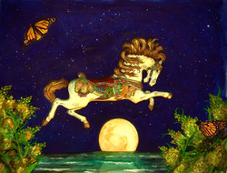 Carousel Horse, Seaside, NJ