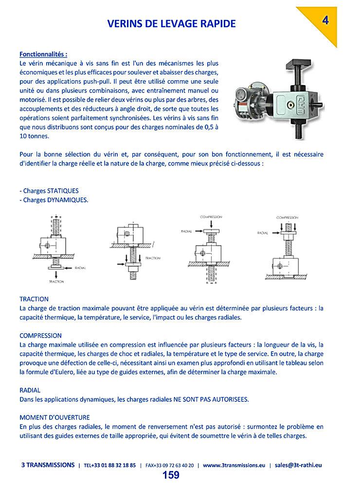 Vérins mecaniques à vis | 3 Transmissions