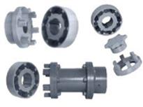 Accouplement flexible à tampons type centaflex D Rathi couplings