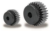 Roue cylindrique denture droite en acier 34CrMo4 Module 3 KSG
