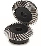 Engrenage spiro conique acier C45 60Hrc modèle SMSG