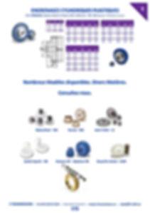 Engrenages plastiques moyeu acier | 3 Transmissions