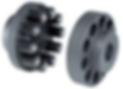 Accouplement flexible à broches coniques hautement résistant en torsion série RC Flex Rathi couplings