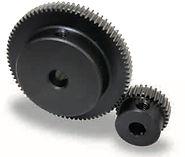Roue cylindrique denture droite en acier C45 Module 0,5 SSG