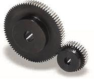 Roue cylindrique denture droite en acier C45 Module 2 SSG