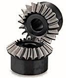 Engrenage spiro conique acier C45 60Hrc modèle SMZG