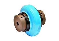 Accouplement hautement élastique à jante ou pneu poluyréthane Rathi couplings