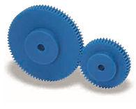 Roue cylindrique droite en platique nylatron module 2 ps