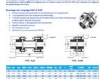 Accouplement mécanique rigide RLM