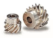 Roue cylindrique spirale acier LAITON modèle AN