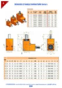 Renvoi d'angle à engrenage miniature   3 Transmissions