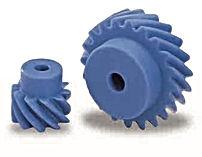 Roue cylindrique spirale plastique modèle PN
