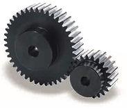 Roue cylindrique denture droite en acier C45 Module 5 SSG