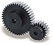 Roue cylindrique denture droite en acier C45 Module 8 SSG