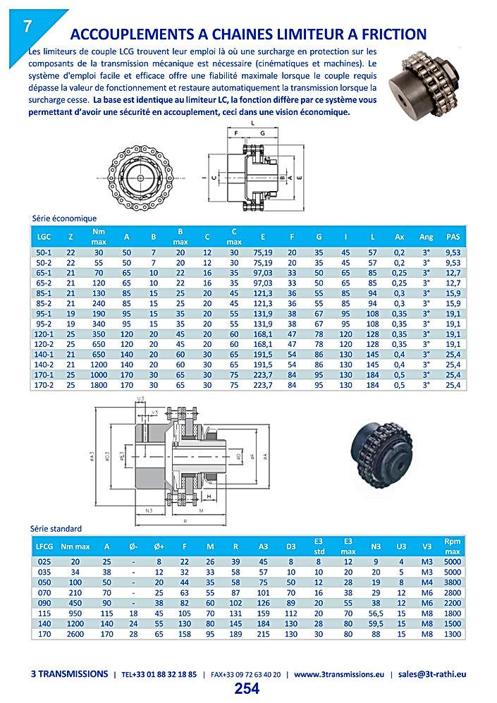 Accouplements rigides à lamelles REM   3 Transmissions